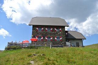 Wolfsberger Hütte auf 1.825 Meter