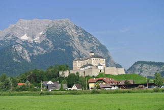 Schloss Trautenfels am Fuß des Grimmig