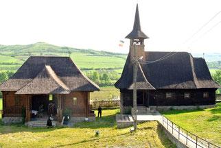 Sehr oft sind die Kirchen aus Holz gebaut