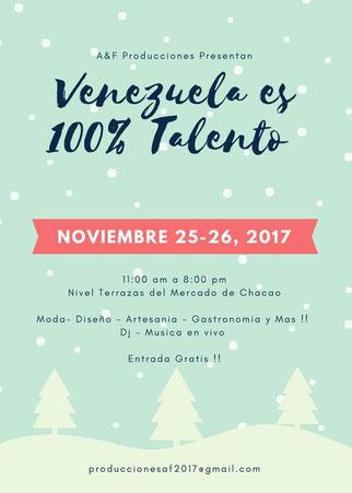 Venezuela es 100% Talento - A & F Producciones
