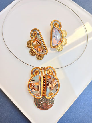 Soutache-Schmuck by Kinari Handmade Jewellery