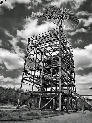 Windrad im Lapadü