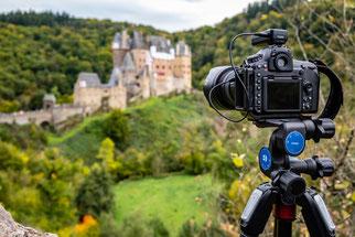 Nikon D850 mit dem Nikkor 24-70 f2.8 und dem Benro Getriebeneiger GD3WH