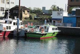 横浜市・ゾウの鼻地区の横浜港