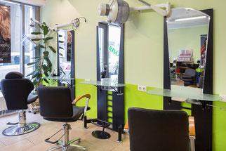 Hair Design - Servicebereich
