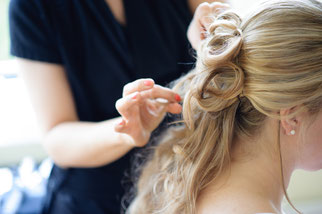 Wedding Hair make-up