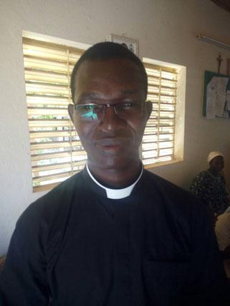 Abbé Ignace ZONGO, jeune prêtre du 08 juillet 2017, nouvellement affecté à Réo