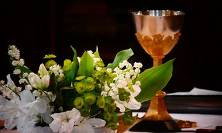 1ères eucharistie à Pleyber, ce jeudi de l'Ascension