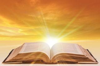 Lisons la Bible, le livre saint de Dieu. Lisons les évangiles qui nous apprennent à connaître Jésus-Christ.
