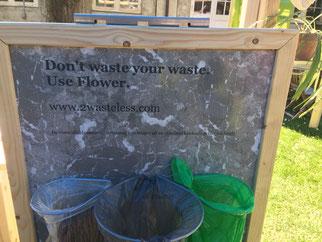 Billig affaldssortering system Flower: affaldssortering til et skab 7