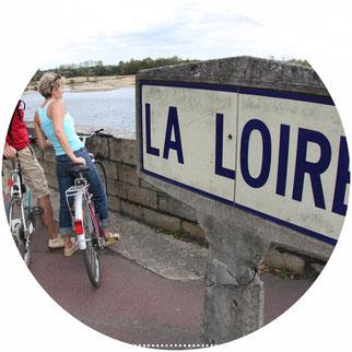 La Loire à Vélo à Ancenis (Loire-Atlantique)
