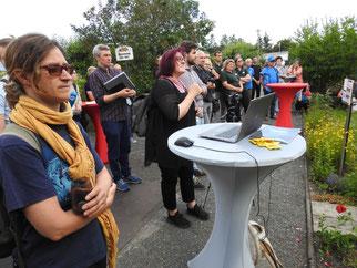 """Zahlreiche Gäste und Medienvertreter informierten sich über den Start des Projekts """"mein Biotop""""."""