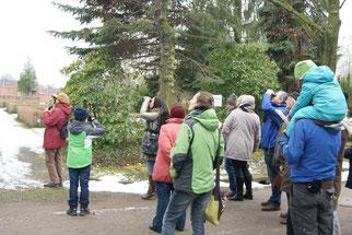 Exkursion über den Friedhof Kleinzschocher. Foto: René Sievert