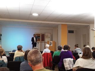 Der 24. Tag des Leipziger Auwaldes fand im Sportforum statt. Umweltbürgermeister Heiko Rosenthal verkündete das Auwaldtier des Jahres.