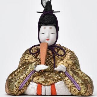 またろび 本金佐賀錦 親王飾り「望」男雛
