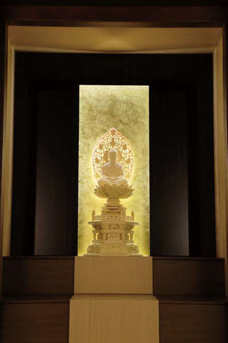 「伝心 フロアタイプ ウォールナット」の照明