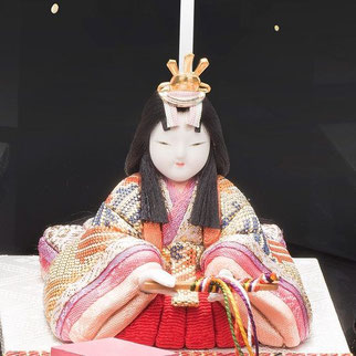 またろび 本金佐賀錦 親王飾り「望」女雛