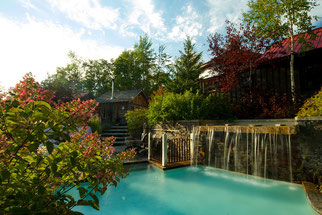 Luxurious accommodation at Danby House and relaxing spa experience at Scandinave Spa Blue Mountain.