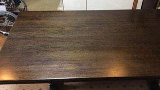 ダイニングテーブル塗装(塗替え)
