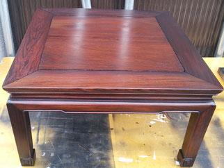 テーブル(座卓)塗替え