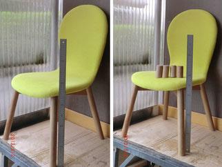 テーブルや椅子などの脚切断