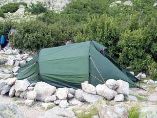Zelt, 2 Personenzelt, Tunnelzelt, 4-Jahreszeiten Zelt, Hilleberg Naldo 2