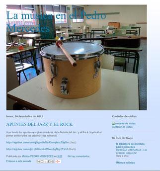 Blog del departamento de Música