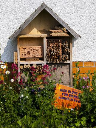 NABU Rinteln / Kathy Büscher / Insektenhotel / NABU NUZ / RGS Weserbergland