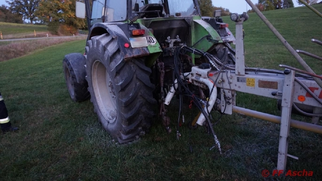 Einsatz 09/2018 - Brand landwirtschaftliche Maschine
