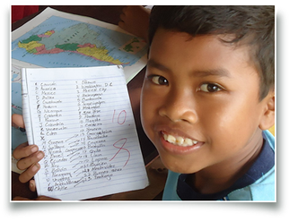 volunteering, volunteer, bali, introduction workshop, teaching children, vip-international, education
