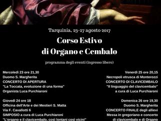 Eventi del V Corso Estivo di Organo e Cembalo