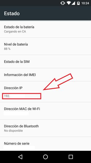 Ver Mi Dirección IP Privada En Android