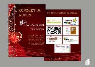 Gestaltung Flyer Spiez Berner Region