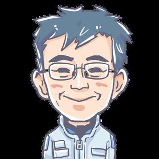 (有)柴藤自動車スタッフ紹介⑤ 只の取締役イラスト(笑)