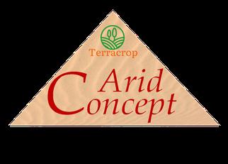 Schriftzug Arid Conzept