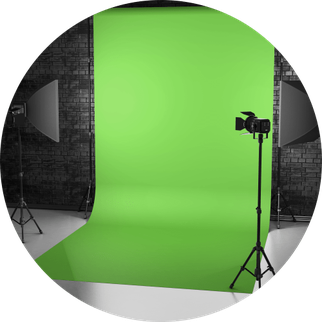 Fotobox München mit Greenscreen