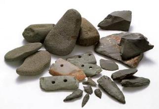 瓜破3丁目出土 弥生時代前期末の石器