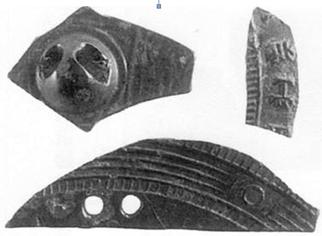 瓜破北遺跡の鏡片