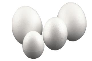 Styropor Ei voll