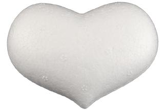 Styropor Herz bauchig