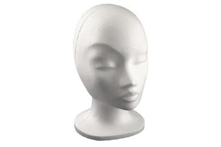 Styropor Kopf Frau