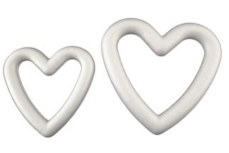 Styropor Herz Rahmen