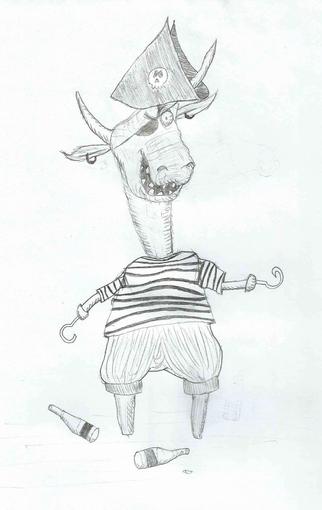 Und ja, ich kann keine Stiere zeichnen!