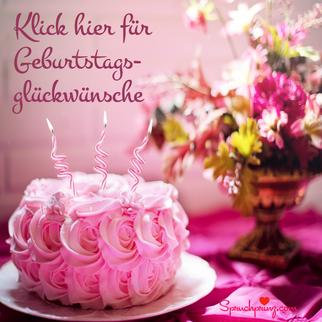 Gratulation Geburtstag
