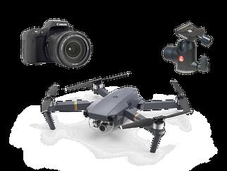 Empfehlungen und Tipps zur Fotografie-Ausrüstung (Objektive, Kamera, Stativ, Drohnen, Blitz, Lampfen, Timer)