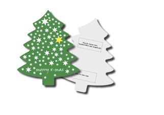 Weihnachtskarten, Klappkarten, Karten aus Karton