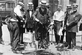 Ley seca y la era de la prohibición