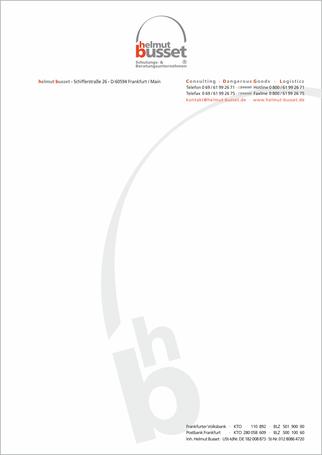 Druck auf 90 g/qm Zeta Bankpost mit Wasserzeichen