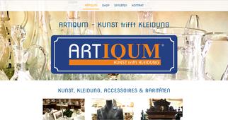 Artiqum.de & Artiqum.com Neuaufbau 2017