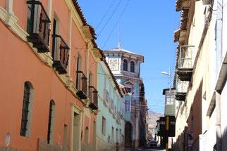 Quartier colonial de Potosi